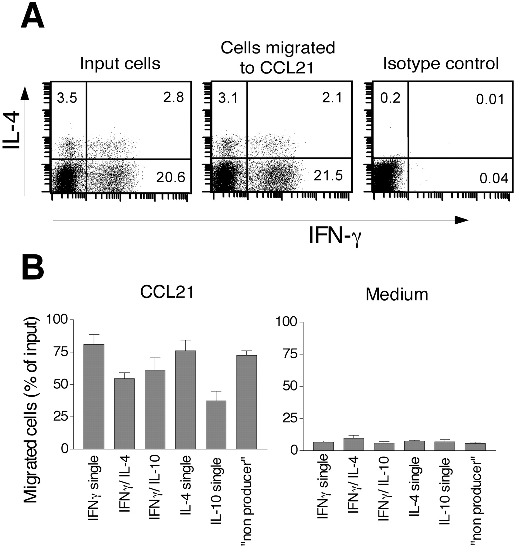 In Vivo Differentiated Cytokine-Producing CD4+ T Cells