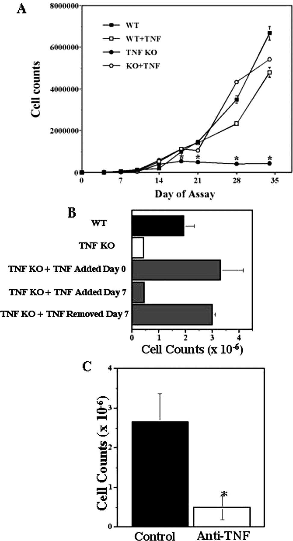 IL-3-Mediated TNF Production Is Necessary for Mast Cell
