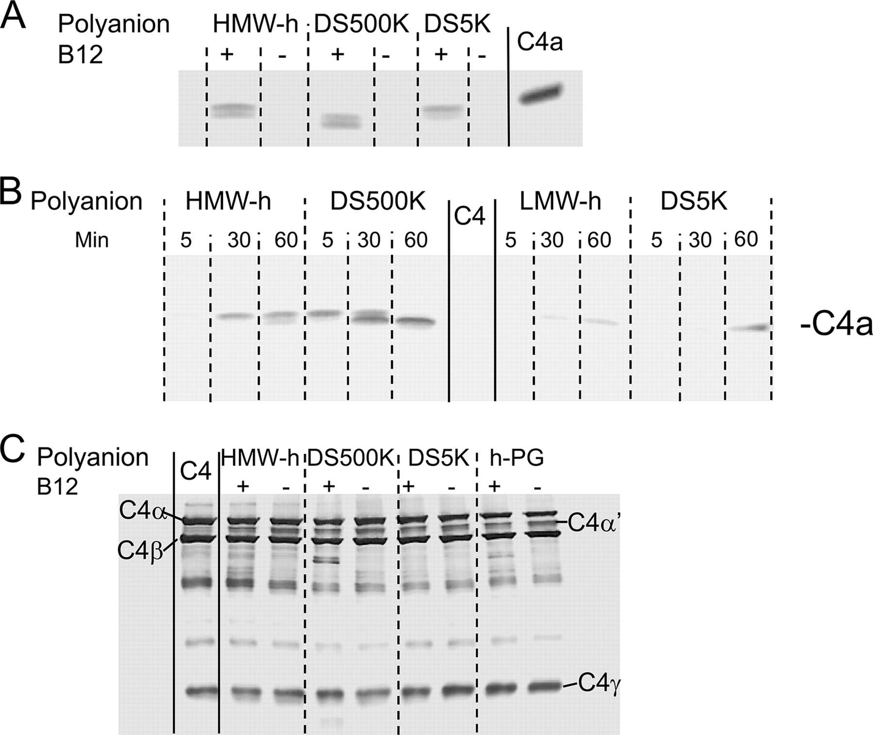 Generation of Anaphylatoxins by Human β-Tryptase from C3, C4