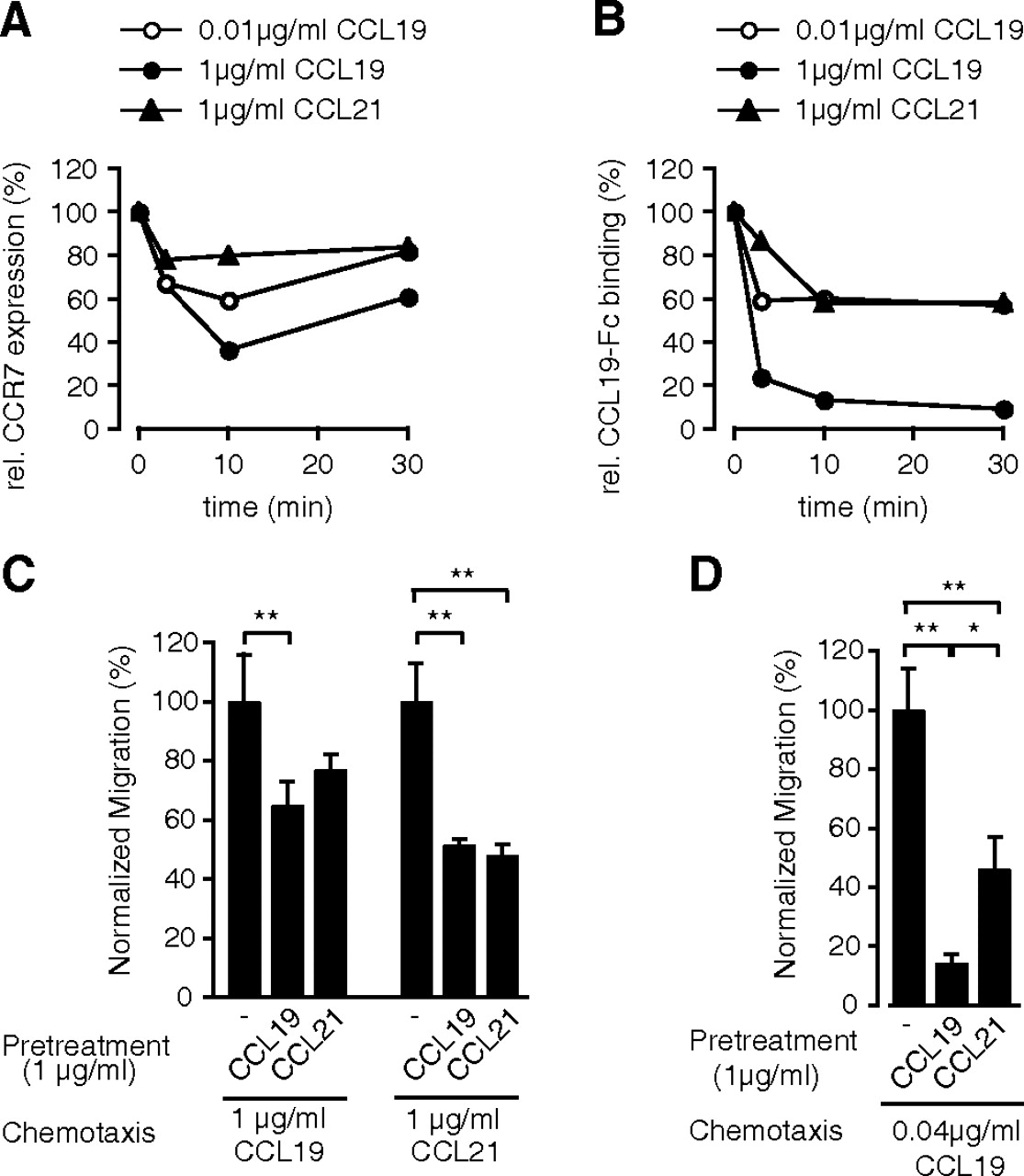 Dynamic Modulation Of CCR7 Expression And Function On