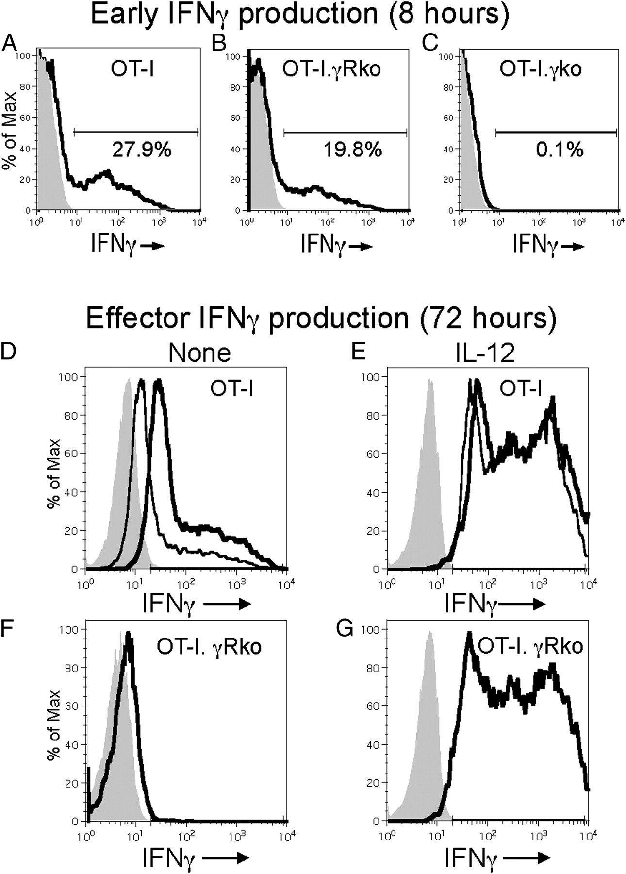 Autocrine IFN-γ Promotes Naive CD8 T Cell Differentiation
