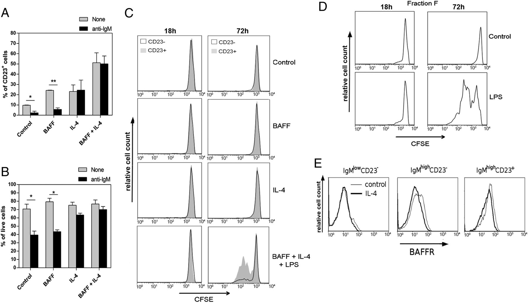 IL-4 Regulates Bim Expression and Promotes B Cell Maturation