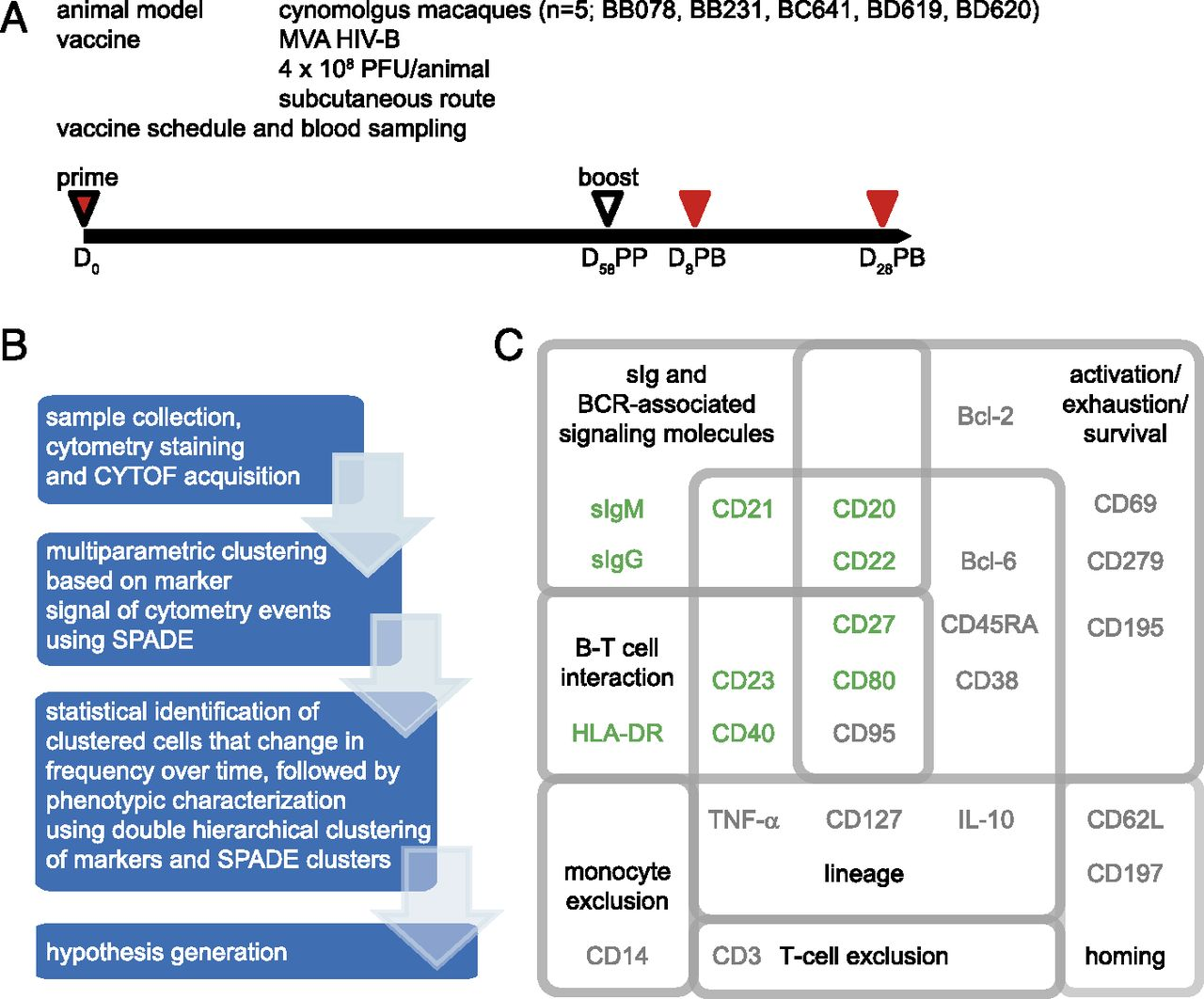Identification Of Vaccine Altered Circulating B Cell Phenotypes Pc Schematic Automation Screenshot 6 Download Figure