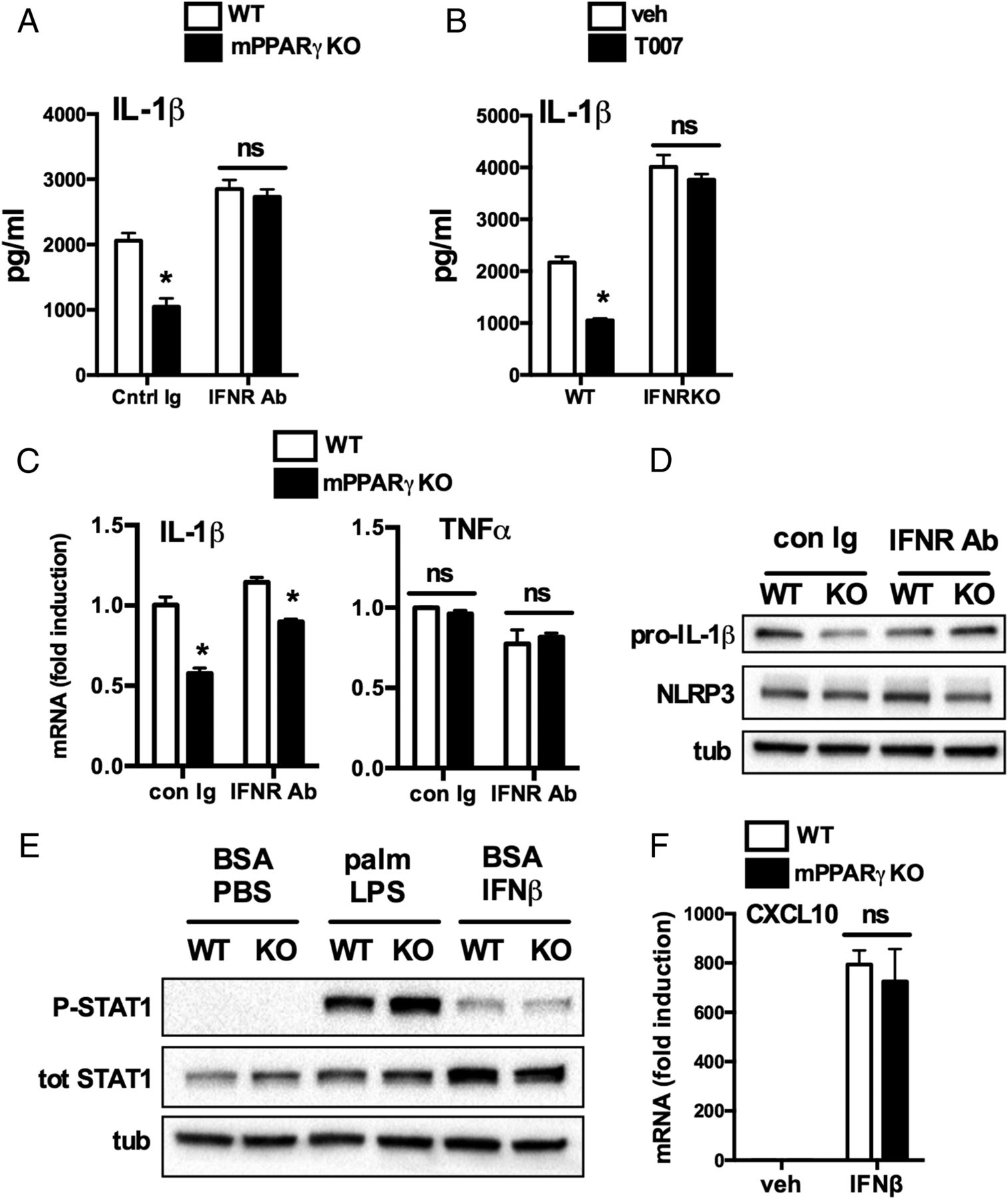 Ppar Deficiency Suppresses The Release Of Il 1 And In Ory Circuit Diagram Continued Download Figure