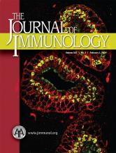 The Journal of Immunology: 182 (3)